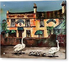 Harbour Bar,,, Bray Acrylic Print