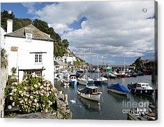 Harbour Cottage Acrylic Print by Paul Felix