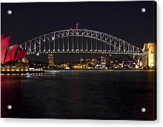 Harbour Lights Acrylic Print by Chasing Sooz