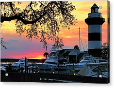 Harbour Town Sundown Acrylic Print