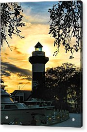 Harbour Town Lighthouse Beacon Acrylic Print