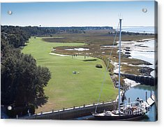 Harbourtown Golf Course 18th Hole Acrylic Print