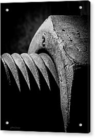 Hard 2 Acrylic Print by Steven Milner