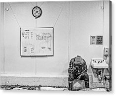 Acrylic Print featuring the photograph Hard Day by Rob Tullis
