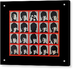Hard Days Night Acrylic Print by Gina Dsgn