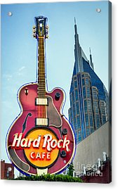 Hard Rock Cafe Nashville Acrylic Print