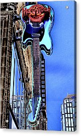 Hard Rock Cafe Seattle Acrylic Print by David Patterson