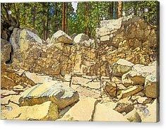 Hard Rock Forest Acrylic Print