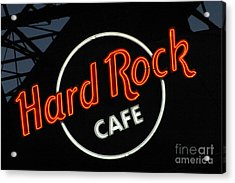 Hard Rock - St. Louis Acrylic Print by Gary Gingrich Galleries