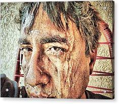 Hard Work Acrylic Print by Beto Machado