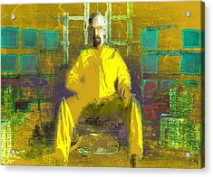Acrylic Print featuring the digital art Hard Work by Brian Reaves