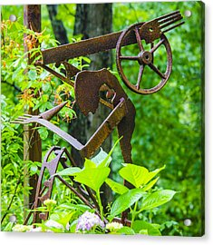 Hard Working Man Acrylic Print by Carolyn Marshall