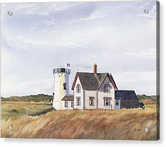 Harding's Beach Light Acrylic Print