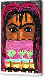 Harem Girl Acrylic Print