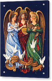 Hark The Herald Angels Sing Acrylic Print