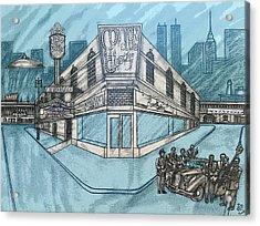 Harlem Fantasy2 Acrylic Print by Ernie Mapp