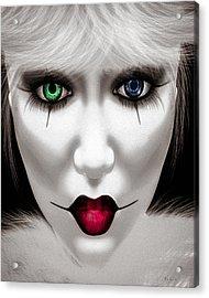 Harlequin Acrylic Print by Bob Orsillo
