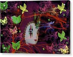Harlequin Acrylic Print