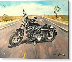 Harley Davidson 883 Sportster Acrylic Print