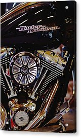 Harley Davidson Abstract Acrylic Print