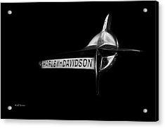 Harley Davidson Emblem Acrylic Print