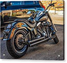 Harley Davidson Acrylic Print