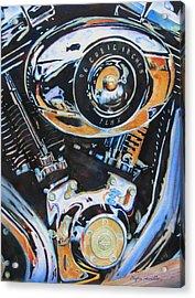 Harley Heaven Acrylic Print