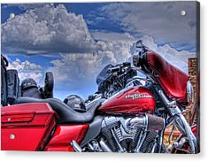 Harley Acrylic Print by Ron White