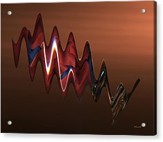 Acrylic Print featuring the photograph Harmonic Flow by Dennis Lundell