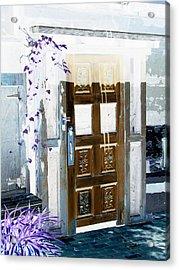 Harmony Doorway Acrylic Print