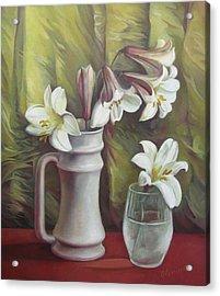 Harmony Acrylic Print by Elena Oleniuc