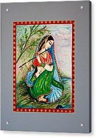 Acrylic Print featuring the painting Harmony by Harsh Malik