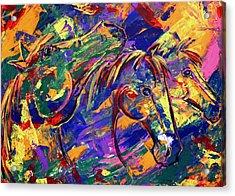 Harmony Horses Acrylic Print