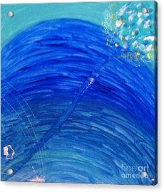 Acrylic Print featuring the painting Harmony by Ilona Svetluska
