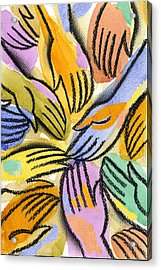 Multi-ethnic Harmony Acrylic Print