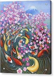 Harmony No.1 Spring Acrylic Print by Sumiyo Toribe