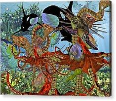 Harmony Under The Sea Acrylic Print by Betsy Knapp