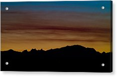 Harney Sunset Acrylic Print