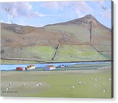 Haroldswick Shetland Islands Acrylic Print
