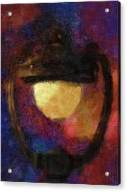 Harp Lamp Acrylic Print by Jack Zulli