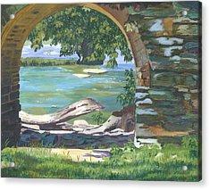 Harper's Arch Acrylic Print by Lynne Reichhart