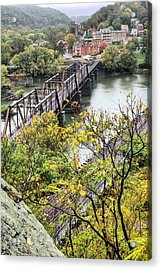Harpers Ferry Acrylic Print by JC Findley