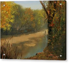 Harpeth At Carnton Acrylic Print by Tommy Thompson
