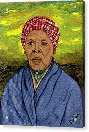 Harriet Acrylic Print by Delvon