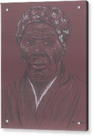 Harriet Tubman Acrylic Print by Bob Gumbs