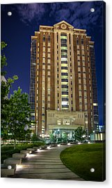 Harris County Civil Courthouse Acrylic Print