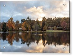Harris Lake Highlands Nc Acrylic Print by Allen Carroll