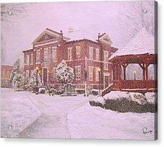 Harrison Courthouse Acrylic Print