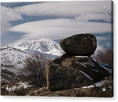Acrylic Print featuring the photograph Harrison Pass by Jenessa Rahn