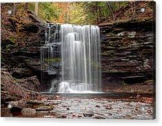 Harrison Wright Falls As Autumn Arrives Acrylic Print